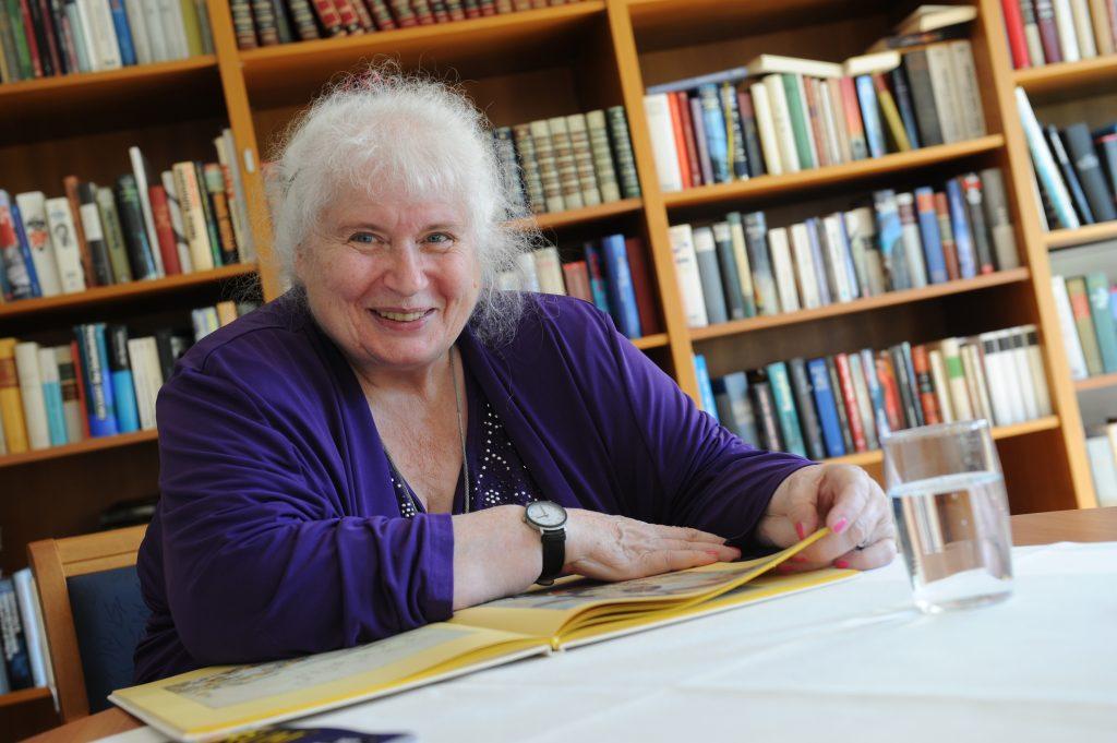 Dr. Christa Pautsch, Bewohnerin im Betreuten Wohnen der Pro Sneiore Residenz Freiburg