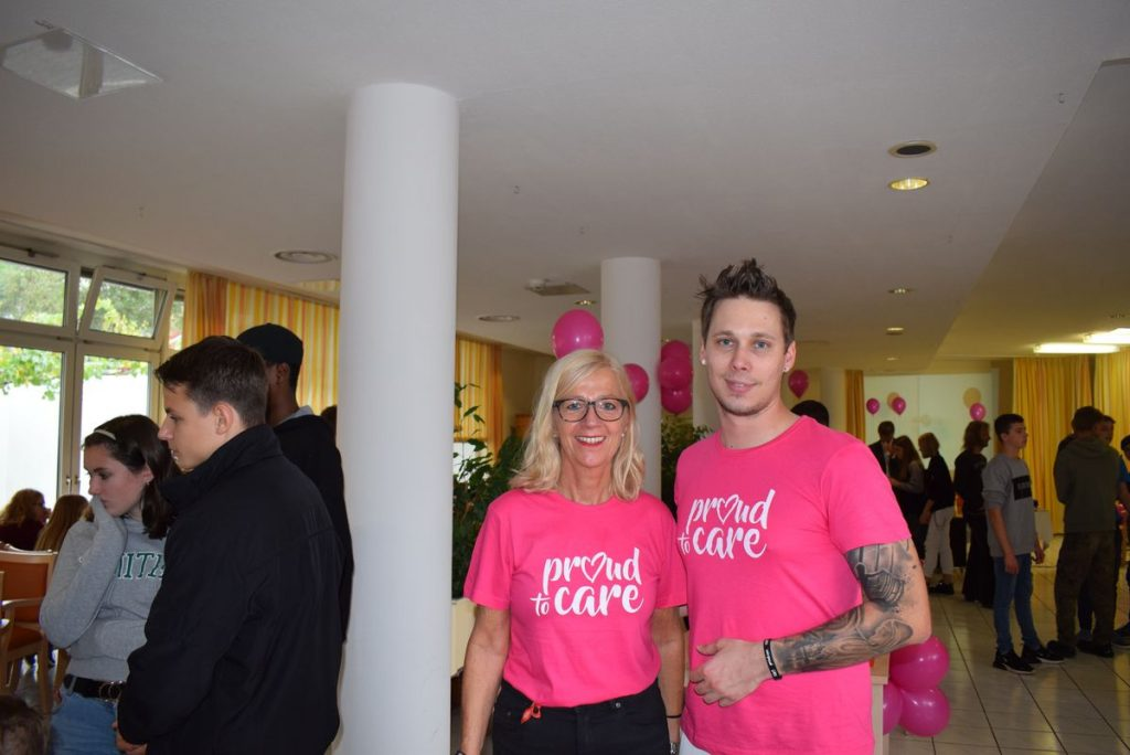 Proud to care: Friday for Future in der Pro Seniore Residenz