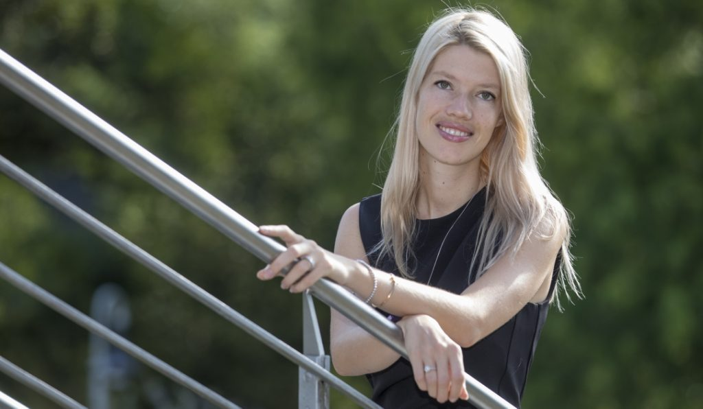 Proud to care: Chantal Ostermann, Vorstandsvorsitzende proud to care e. V.